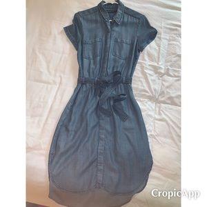 A&F Chambray Dress